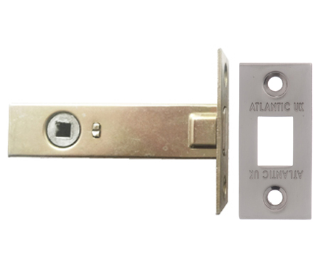 Atlantic 2.5, 3 And 4 Inch Tubular Deadbolt, Satin Nickel - ADB3SN