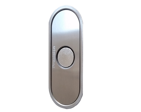 Excel Hardware 'Precision' Bolt-Through Bathroom Privacy Bolt (60mm Backset), Brushed Stainless Steel - AM60PV