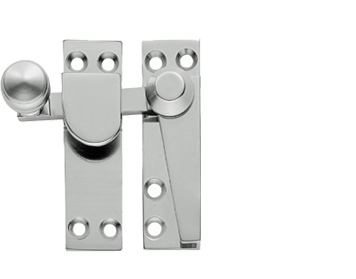 ARCHITECTURAL SASH FASTENERS (70MM), POLISHED CHROME, SATIN CHROME, POLISHED BRASS OR STAINLESS BRASS - AQ39