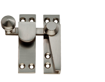 ARCHITECTURAL (QUADRANT ARM) SASH FASTENERS (70MM), SATIN NICKEL - AQ39SN
