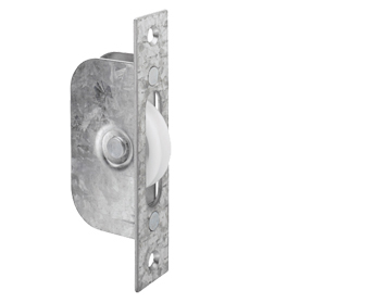GALVANISED SASH WINDOW AXLE PULLEY - AQ91