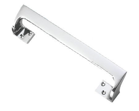 Prima Cranked Pull Handle (229mm Or 311mm), Polished Chrome - BC115