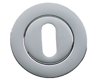 Prima 'Standard Profile' Escutcheon, Polished Chrome - BC1322