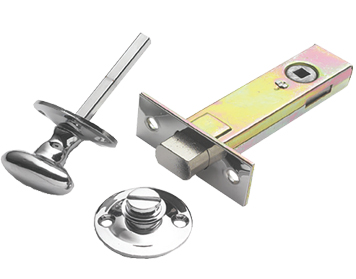 Prima Complete Oval Turn & Release With Mortice Deadbolt, Polished Chrome - BC1355