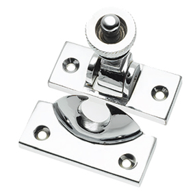 Prima Brighton Sash Window Fastener (57mm x 25mm), Polished Chrome - BC135