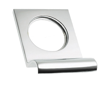 Prima Victorian Square Top Cylinder Pull, Polished Chrome - BC237