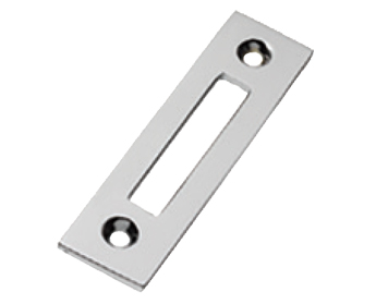 Prima Mortice Plate For Casement Fasteners, Polished Chrome - BC288
