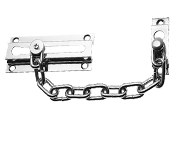 Prima Security Door Chain (86mm), Polished Chrome - BC40A