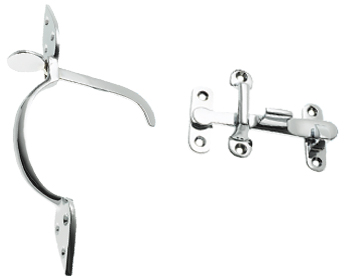 Prima Suffolk Thumblatch, Polished Chrome - BC43