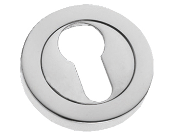Prima 'Euro Profile' Escutcheon, Polished Chrome - BC591