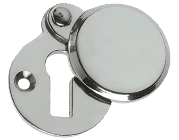 Prima 'Heavy Covered' Standard Profile Escutcheon, Polished Chrome - BC624