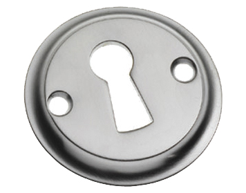 Prima 'Tudor' Open Escutcheon, Polished Chrome - BC688