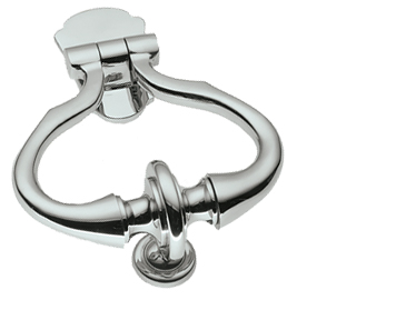 Prima 'Diplomat' Door Knockers, Polished Chrome - BC709