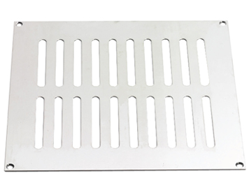 Prima Plain Slotted Vent (Various Sizes), Polished Chrome - BC860