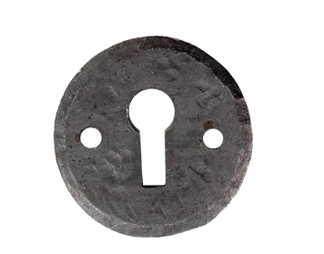 Carlisle Brass Ludlow Foundries Un-Covered Standard Profile Escutcheon (40mm Diameter), Beeswax - BW5546O