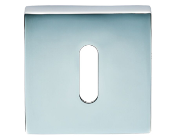 Carlisle Brass Cebi Square Standard Profile Escutcheons, Polished Chrome Or Satin Chrome - CEB003Q