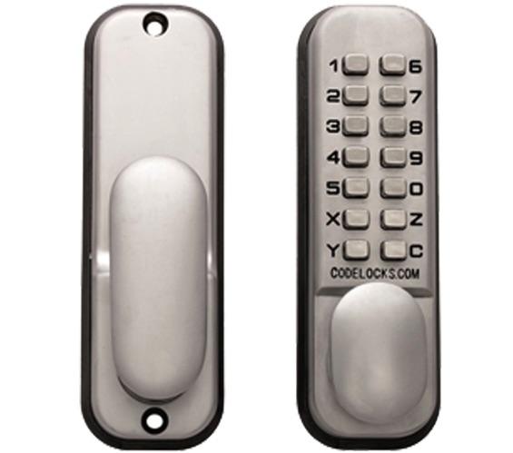 Eurospec Mechanical Digital Door Entry Lock Mortice Latch Silver