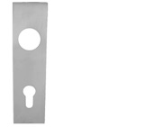 Eurospec Square Stainless Steel Cover Plates, Satin Stainless Steel Finish - CPS-SQ (sold in pairs)
