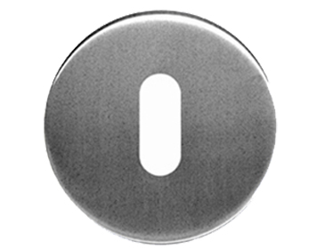 Eurospec 'Standard Profile' Stainless Steel Escutcheons, Polished Or Satin Finish - CSP1005