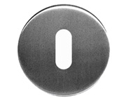 Standard Profile Keyhole Escutcheon, Satin Stainless Steel - 8301SSS