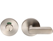 Eurospec Disabled Turn & Release On Slim Fit 6mm Rose, Grade 304 Satin Stainless Steel - CST1028SSS