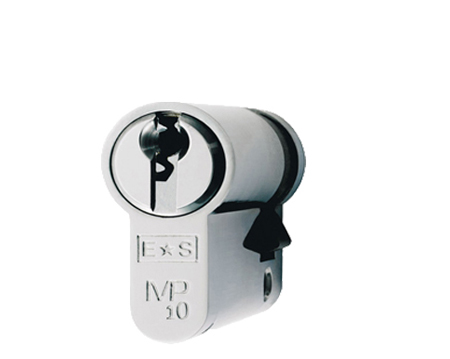 Eurospec MP10 Euro Profile British Standard 10 Pin Single Cylinders, (Various Sizes) Polished Chrome - CYH711PC