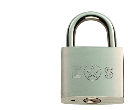 Eurospec Standard Shackle G304 Stainless Steel Padlock, Various Sizes 30mm-60mm (Keyed To Differ) - CYPL3030SSS/BP