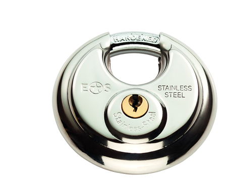 Eurospec Closed Shackle G304 Stainless Steel Padlock, 70mm Or 80mm (Keyed To Differ) - CYPLD3070SS/BP