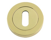 Zoo Hardware DA-T Standard Profile Escutcheons, PVD Stainless Brass - DAT002PVD