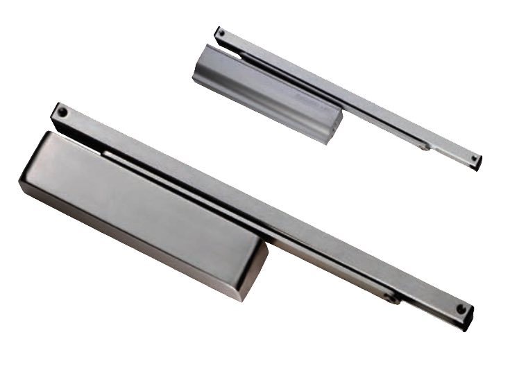 Eurospec Enduromax DDA Compliant Surface Mounted Slim H.E Door Closer Spring Variable Power Size 2  sc 1 st  Door Handle Company & Eurospec Enduromax DDA Compliant Surface Mounted Slim H.E Door ...