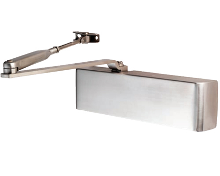 Eurospec Enduro DDA Compliant Overhead Door Closer, Spring Variable Power Size 2-4, Various Finishes - DCS2024BC