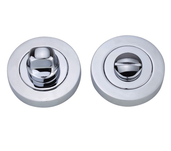 Spira Brass Bathroom Thumb Turn Amp Release Polished Chrome