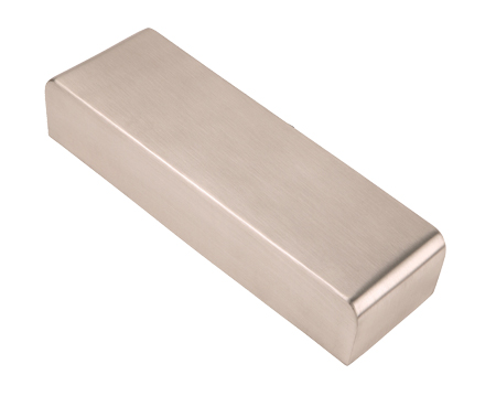 Eurospec Enduro Door Closer Cover Only, Satin Stainless Steel Or Silver - DCX2201