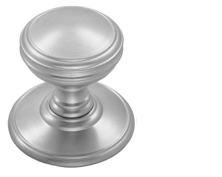 Good Fingertip Delamain Cupboard Knobs (25mm, 30mm Or 38mm), Satin Chrome    DK47SC