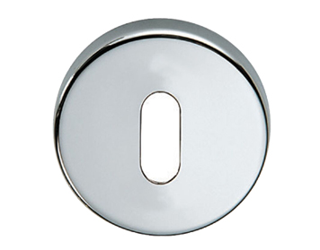 Carlisle Brass DND Round Standard Profile Escutcheon, Polished Chrome Or Satin Chrome - DND003