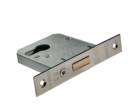 'Budget' Euro Profile Cylinder Deadlocks, Silver Or Brass Finish - EDE50