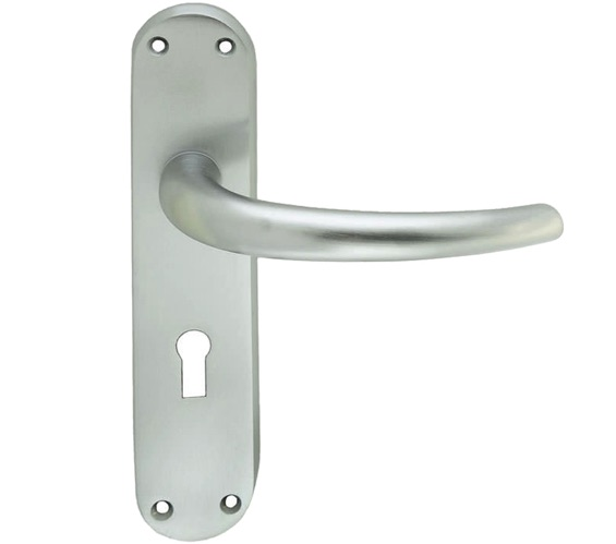 Carlisle Brass Manital Lilla Door Handles On Backplate