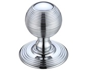 Zoo Hardware Fulton & Bray Ringed Mortice Door Knobs, Polished Chrome - FB306CP (sold in pairs)