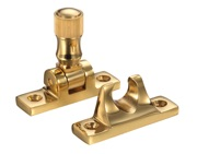 Zoo Hardware Fulton & Bray Brighton Pattern Sash Fastener, Polished Brass - FB32
