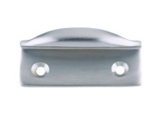 Zoo Hardware Fulton & Bray Window Sash Lift, Satin Chrome - FB35SC