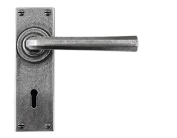 Finesse 'Tunstall' Door Handles, Pewter - FD303 (Sold In Pairs)