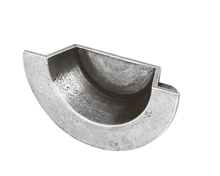 Finesse 'Croft' Cup Handle (64mm C/C), Pewter - FD500