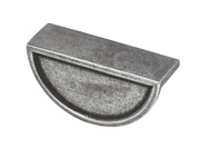 Finesse Fossey Cup Handle (64mm C/C), Pewter - FD501