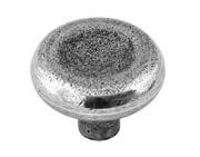 Finesse Stroud Cabinet Knob (40mm Diameter), Pewter - FD557