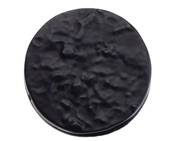 Zoo Hardware Foxcote Foundries Round Escutcheon With Cover, Black Antique - FF06