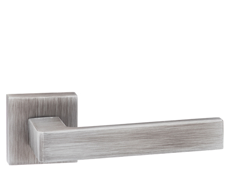 Atlantic 'Asti' Forme Designer Lever On Square Minimal Rose, Urban Graphite - FMS254UG (sold in pairs)