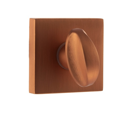 Atlantic Forme Bathroom Turn & Release On Minimal Square Rose, Urban Satin Copper Finish - FMSWCUSC None