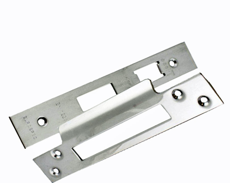 Eurospec Polished Stainless Steel Forend & Strike Pack For LSS5325 3 Lever Sash Locks - FSF5004BSS