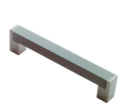 Square Section Cabinet Handle (Multiple Sizes), Satin Nickel - FTD3550SN