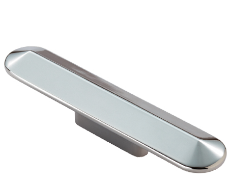 Fingertip Cebi 'Taurini' Cabinet Pull Handle (32mm Or 64mm C/C), Polished Chrome - FTD934CP